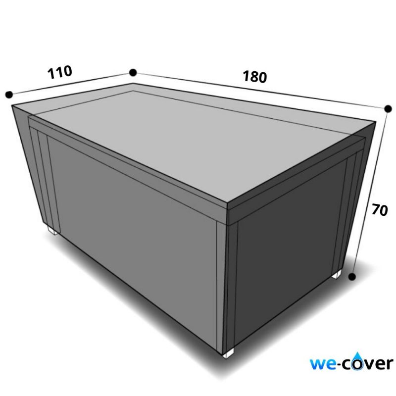 dimensions housse table rectangulaire 180 cm