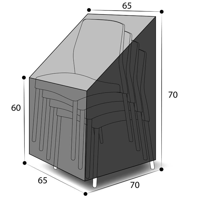 Dimensions housse 4 chaises